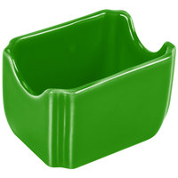 Homer Laughlin 479324 Fiesta Shamrock 3 1/2 inch x 2 3/8 inch Sugar Caddy - 12 / Case