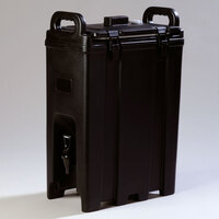 Carlisle LD500N03 Cateraide Black 5 Gallon Insulated Beverage Dispenser