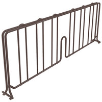 Metro DD24-DCH 24 inch Copper Hammertone Wire Shelf Divider