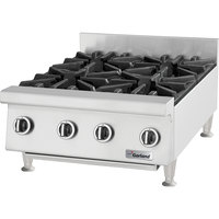 Garland GTOG12-2 Natural Gas 2 Burner 12 inch Countertop Range - 60,000 BTU