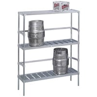 Channel KAR60 6 Keg Rack - 60 inch x 17 inch x 68 inch