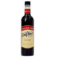 DaVinci Gourmet 750 mL Chocolate Mint Classic Coffee Flavoring Syrup
