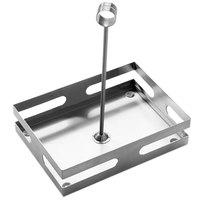 American Metalcraft SCH8 8 inch x 5 3/4 inch Stainless Steel Condiment Rack