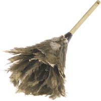 Carlisle 4574300 24 inch Flo-Pac Wood Handle Premium Feather Duster