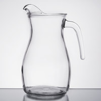 Libbey 13112221 50.75 oz. Curvy Glass Pitcher