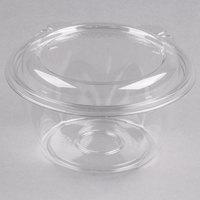 Dart CTR16BD SafeSeal 16 oz. Plastic Tamper-Resistant, Tamper-Evident Bowl with Dome Lid - 240/Case