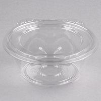Dart CTR12BF SafeSeal 12 oz. Plastic Tamper-Resistant, Tamper-Evident Bowl with Flat Lid - 240/Case
