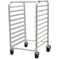 Advance Tabco PR10-3K 10 Pan End Load Bun / Sheet Pan Rack - Unassembled
