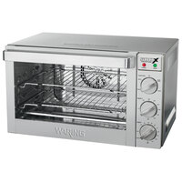 Waring WCO500X Half Size Convection Oven - 120V, 1700W