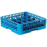 Carlisle RC20-114 OptiClean 20-Compartment Tilted Cup Rack with One Extender