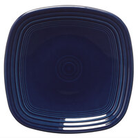 Homer Laughlin 921105 Fiesta Cobalt Blue 7 1/2 inch Square Salad Plate - 12/Case