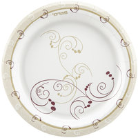 Dart Solo MP7-J8001 Symphony 7 inch Medium Weight Paper Plate - 1000 / Case