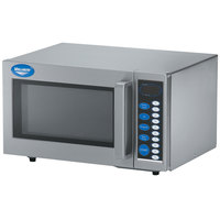Vollrath 40819 Stainless Steel Commercial Microwave Oven with Digital Controls - 110V, 1000W