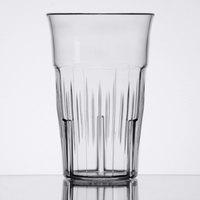 Carlisle 4365107 Lorraine 12 oz. Clear SAN Plastic Tumbler - 12/Case
