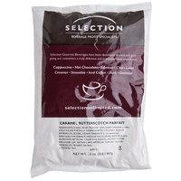 Caramel Butterscotch Parfait Cappuccino Mix 2 lb. Bags - 6/Case