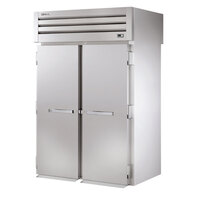 True STG2RRT89-2S-2S Specification Series 89 inch Two Section Roll Through Refrigerator - 80 Cu. Ft.