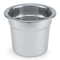 Vollrath 46088 Stainless Steel Inset for 46090 7 Qt. New York, New York Soup Chafer