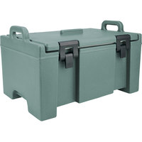 Cambro UPC100401 Slate Blue Camcarrier Ultra Pan Carrier with Handles - Top Load for 12 inch x 20 inch Food Pans