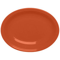 Homer Laughlin 458334 Fiesta Paprika 13 5/8 inch Platter - 12/Case