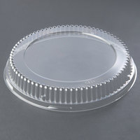 Genpak 95C10 Bake 'N Show Clear Dome Lid for 55R10 and 55C10 Dual Ovenable 10 inch Round Shallow Pizza / Cookie Pan - 200/Case