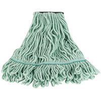 Continental A02802 24 oz. Medium Green Blend Loop End Mop Head with 5 inch Band