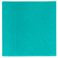 Hoffmaster 180301 Teal Beverage / Cocktail Napkin - 1000/Case