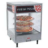 Nemco 6450 Rotating 3-Tiered Pizza Merchandiser 12 inch Racks 120V