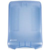 San Jamar T1700TBL Ultrafold Classic Large Capacity C-Fold / Multi-Fold Towel Dispenser - Arctic Blue