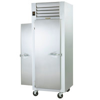 Traulsen G10015P Solid Door 1 Section Pass-Through Refrigerator - Left / Right Hinged Doors