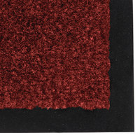 Teknor Apex NoTrax T37 Atlantic Olefin 434-335 3' x 60' Crimson Roll Carpet Entrance Floor Mat - 3/8 inch Thick