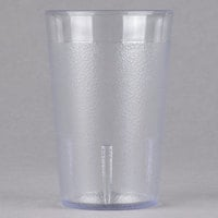 Cambro 800P2152 Colorware 7.8 oz. Clear Plastic Tumbler - 24/Case