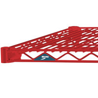 Metro 2172NF Super Erecta Flame Red Wire Shelf - 21 inch x 72 inch