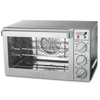Waring WCO250X Quarter Size Convection Oven - 120V, 1700W