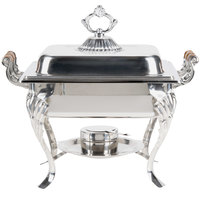 Choice Classic 4 Qt. Half Size Chafer