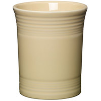 Homer Laughlin 447330 Fiesta Ivory 6 5/8 inch Utensil Crock - 4/Case