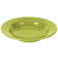 Homer Laughlin 451332 Fiesta Lemongrass 13.25 oz. Rim Soup Bowl - 12/Case