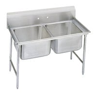 Advance Tabco 9-62-36 Super Saver Two Compartment Pot Sink - 48 inch