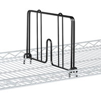 Metro HD18B Black Drop Mat Snap-On Divider - 18 inch Wide