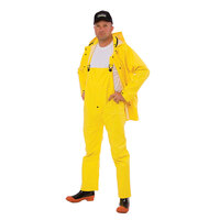 Yellow 3 Piece Rainsuit - Small