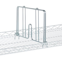 Metro HD24C Chrome Drop Mat Snap-On Divider - 24 inch Wide