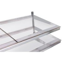 True 921726 Glass Shelf with Light - 26 3/4 inch x 21 3/4 inch
