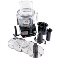 Waring WFP11S Cuisinart 2.5 Qt. Batch Bowl Food Processor with Vertical Chute - 120V