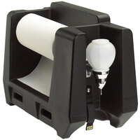 Cambro HWAPR Black Hand Washing Station - Roll Towel Dispenser