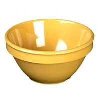 Smooth Melamine Yellow Bouillon Cup - 4 1/4 inch 12 / Pack