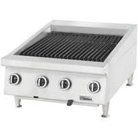 Garland GTBG48-AR48 Liquid Propane 48 inch Radiant Charbroiler with Adjustable Grates - 144,000 BTU