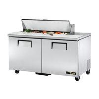True TSSU-60-12-HC 2 Door Refrigerated Sandwich Prep Table