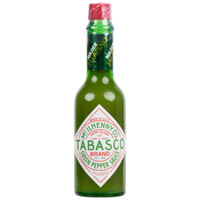 TABASCO® 2 oz. Green Pepper Hot Sauce - 12/Case