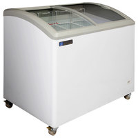 Master-Bilt Coldin-3 MSC-41A Curved Lid Display Freezer - 8.5 cu. ft.