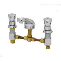 T&S B-2991 EasyInstall Deck-Mounted Push Button Lavatory Faucet