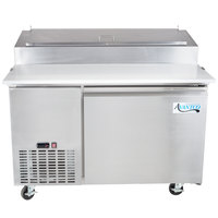 "Avantco PICL1 50"" One Door Refrigerated Pizza Prep Table"